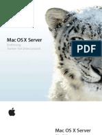Mac OSX Server v10.6 Einfuhrung