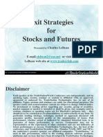 Exit Strategies for Stocks and Futures by LeBeau