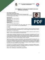 Estudio de Impacto Ambiental Tratamiento de Agua Potable