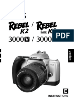 canon rebel k2 35mm slr camera owner s manual exposure rh scribd com canon eos rebel k2 manual español Canon EOS Rebel Front