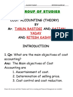 Costing Theory