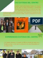 EXPERIENCIAS EXITOSAS DEL CENTRO