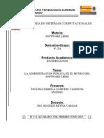 Admin is Trac Ion Publica en El Mundo Del Software Libre