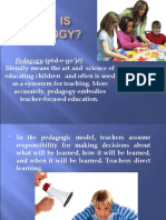 What is Pedagogy Part 1