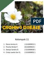 CROHN'S DISEASE presentasi