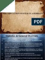 The Education System in Azerbaijan