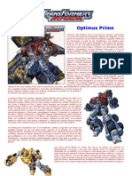Transformers Armada - Optimus Prime