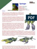 Transformers G1 - Springer