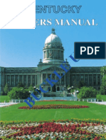2005 Ky Drivers Manual