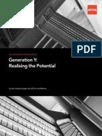 Generation y Report