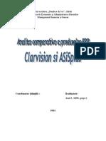 Analiza Comparativa a Produselor ERP Clarvision&ASiSplus
