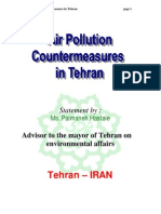 Air Pollution Countermeasures in Tehran