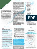 Especialista en Planificación Urbana [tríptico]