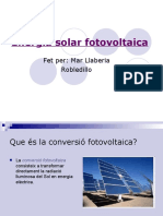 Energia Fotovoltàica