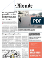 Le Monde - Mercredi 27 avril 2011