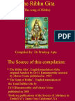 The Ribhu Gita Ppt