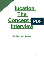 Teacher the Concept of Interview