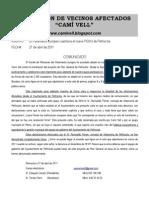 Nota 27-4-2011 Comité de Peticiones (internet)