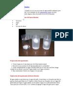 Experimento huevo flotador