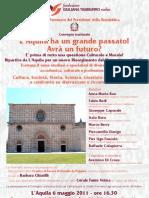 Locandina Convegno Fondazione Giuliana Tamburro