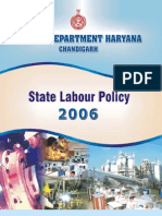 1. Haryana State Labour Policy 2006