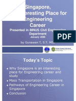 BINUS Presentation-Engineering Career in Singapore