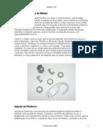 Injeção Plastico e Metais
