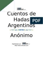 Anónimo - Cuentos de hadas argentinos