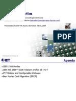 Idt Ieee-1588 Profiles