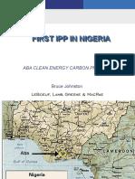 First IPP in Nigeria v1