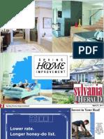 2011 Spring Home Improvement