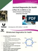 Presentation - Miniaturised Diagnostics for Health - Zulf Ali