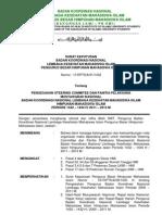 SK 011 - Pengesahan SC Dan OC ah Nasional LKMI 2011 (Revisi)-1