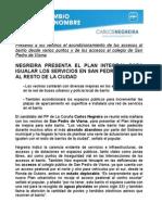 27-04-11 Propuestas Pp San Pedro de Visma