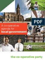 Co-operative Party Local Government Manifesto