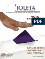 Violeta 3 | Voto femenino