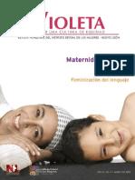 Violeta 5 | Maternidad solitaria