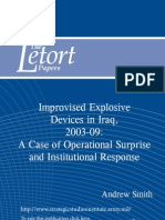 Improvised Explosive Devices in Iraq, 2003-09