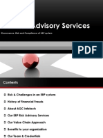 SAP Risk Advisory Services