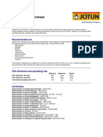 Jotafloor SL Universal English TDS