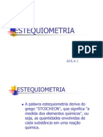 ESTEQUIOMETRIA-AULA 1