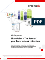 Whitepaper - Share Point as Face of Your Enterprise Architecture - Sp_face_of_your_ea