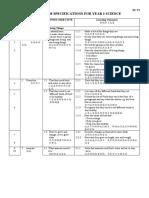 Yr2 Science Specification 2004-Sjkc