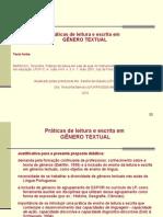 Prática de Leitura  e escrita em gênero textual - Chuva Ácida