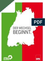 Koalitionsvertrag zwischen BÜNDNIS 90/DIE GRÜNEN und der SPD Baden-Württemberg 2011-2016