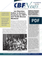 May 2011 KBF Newsletter
