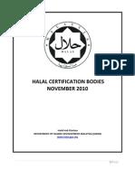 Badan Islam Update November 2010