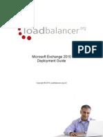 Microsoft Exchange 2010 Deployment Guide