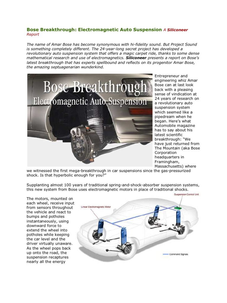 electromagnetic suspension full project report