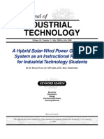 Hybrid Solar-Wind Power Generation System